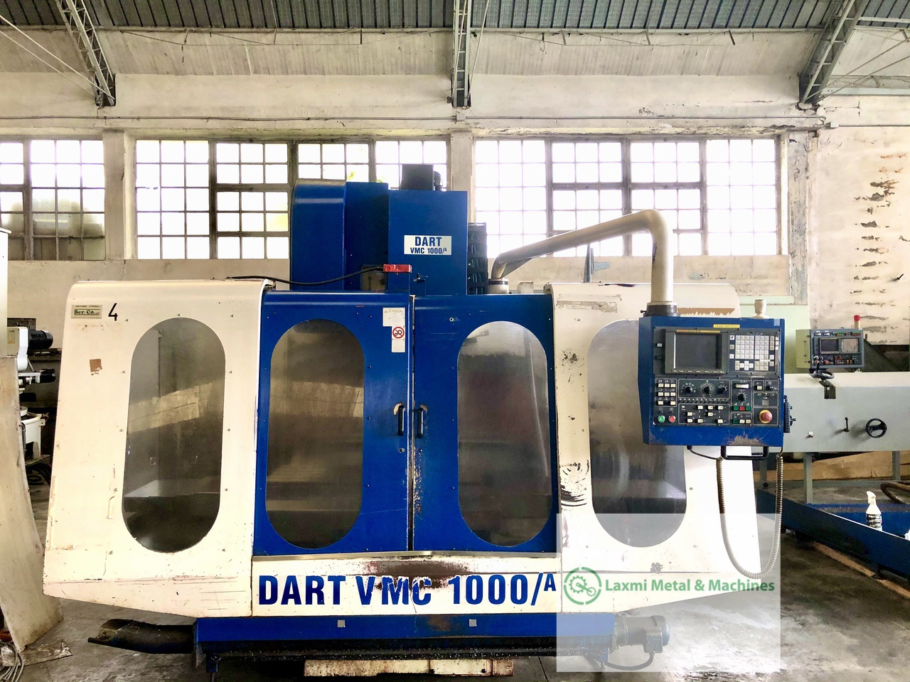 An advanced machine: horizontal machining centre